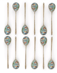 spoons (set of 12) by nikolai alexeev