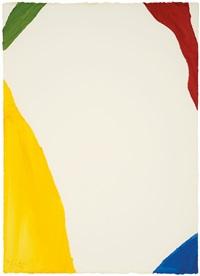 wind directions (four pochoirs portfolio) by helen frankenthaler