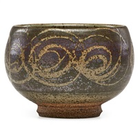 early bowl by peter voulkos