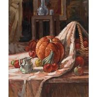 pommes et citrouille by littorio del signore