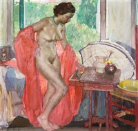 the red scarf by richard edward miller