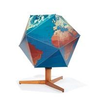 dymaxion globe by buckminster fuller