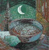 a still life by moonlight by nicolaas maritz