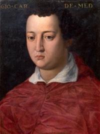 ritratto del cardinale giovanni de medici by agnolo bronzino