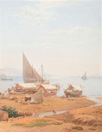 la riviera di levante al porto di anzio by salomon corrodi