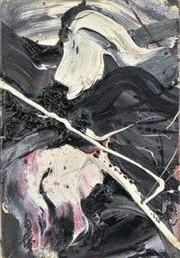 untitled by kazuo shiraga