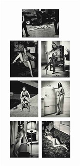 cyberwomen (7 works) by helmut newton