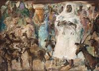 le marchand de chèvres by paul daxhelet