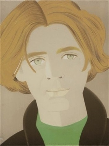 homage to frank ohara by alex katz
