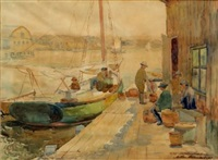 on the pier by arthur j. beaumont