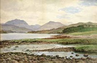 loch etive from connel ferry by john nesbitt