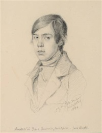brustbild des jakob reutemann (taubstumm) aus lindau by sebastian holzner