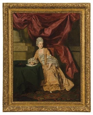 portrait of mrs. thrale by johann joseph zoffany