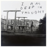 i am deep in thought (+ record album) by david shrigley