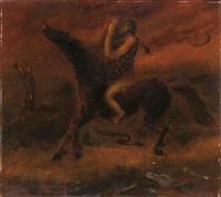 il profeta in vista di gerusalemme by scipione (gino bonichi)