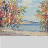autumn, mazinaw, ont by manly edward macdonald