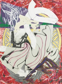 ahab (from the waves) by frank stella