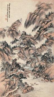 雨晴山泼翠 by xiao junxian