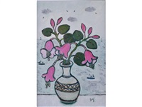 bell flowers by joan gillchrest