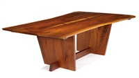 dining table by mira nakashima-yarnall