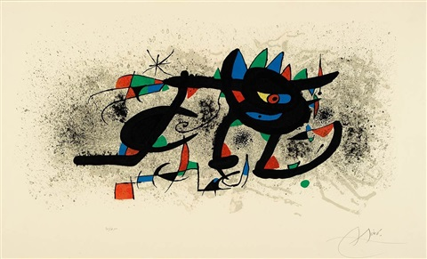 ohne titel by joan miró