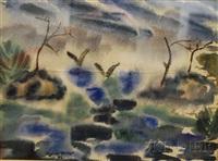verdant landscape by sylvia miller