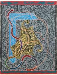 imola three ii by frank stella