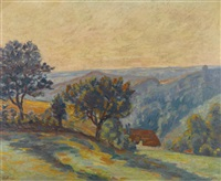 la vallée de la creuse et le puy barriou by armand guillaumin