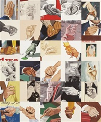 men's hands, handshake by julia jacquette