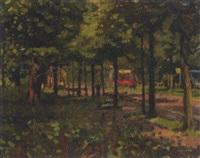 scheveningse weg, the hague by frans koppelaar