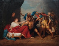samson taken by the philistines by abraham van diepenbeeck
