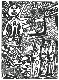 situation lxvii by jean dubuffet