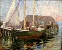 "schooner ""sally anne"" by minnie rogers steele"