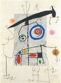 l'homme au balancier by joan miró