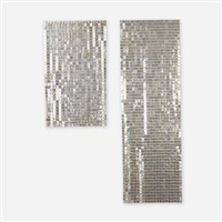 space curtains (pair) by paco rabanne