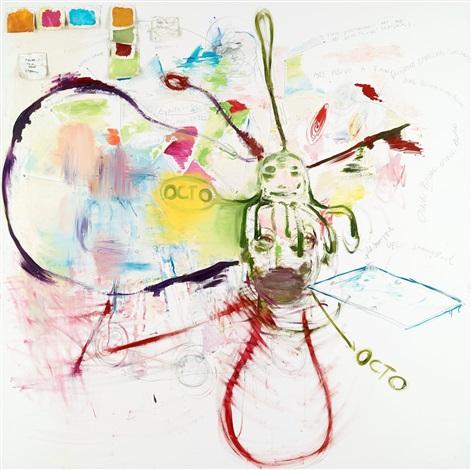 untitled (octo) by bjarne melgaard