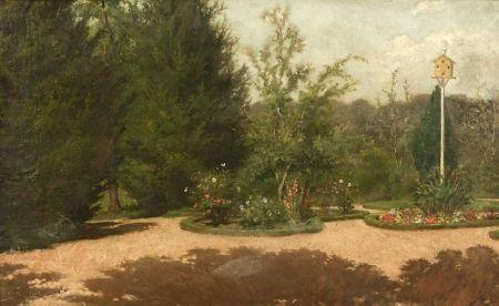 the boston public gardens by john dabour