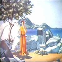angerona, goddess of silence by milet andrejevic