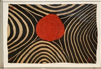 zebra tapestry by alexander calder
