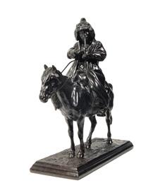 kyrgyz on a horse by artemi lavrentievich ober