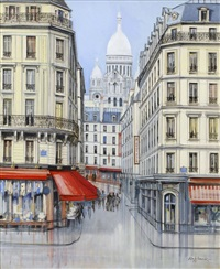 montmartre-boulevard rochehouard by h. rolf rafflewski