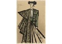 escamillo (green costume) by bernard buffet