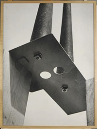untitled - two holes (+ another; 2 works) by b. wurtz
