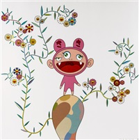 kiki with moss by takashi murakami