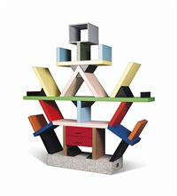 a 30th anniversary edition carlton bookcase by ettore sottsass