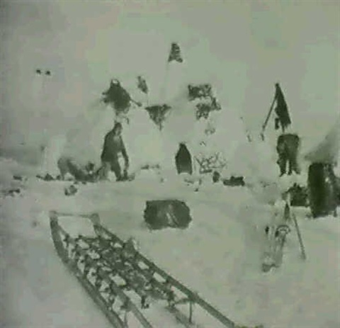 triptych from peary's north pole expedition by robert s. peary