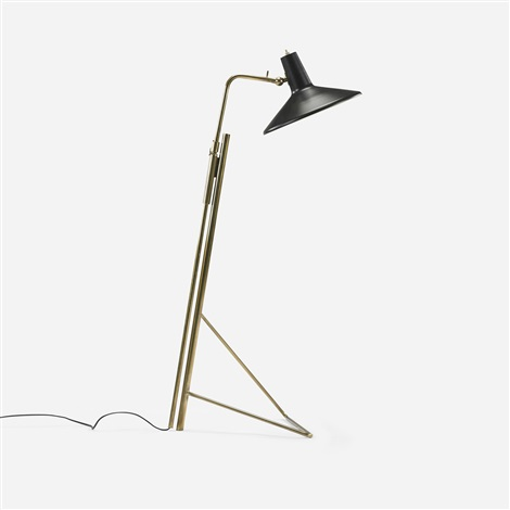 adjustable floor lamp model 1045a by gino sarfatti