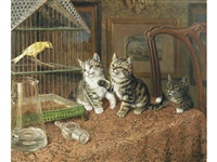 while the cat's away by frank paton