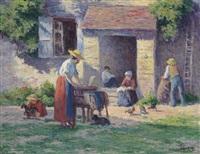 la ferme à bessy-sur-cure by maximilien luce