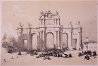 sketches in spain taken during the years 1832 & 1833 (portfolio) by david roberts